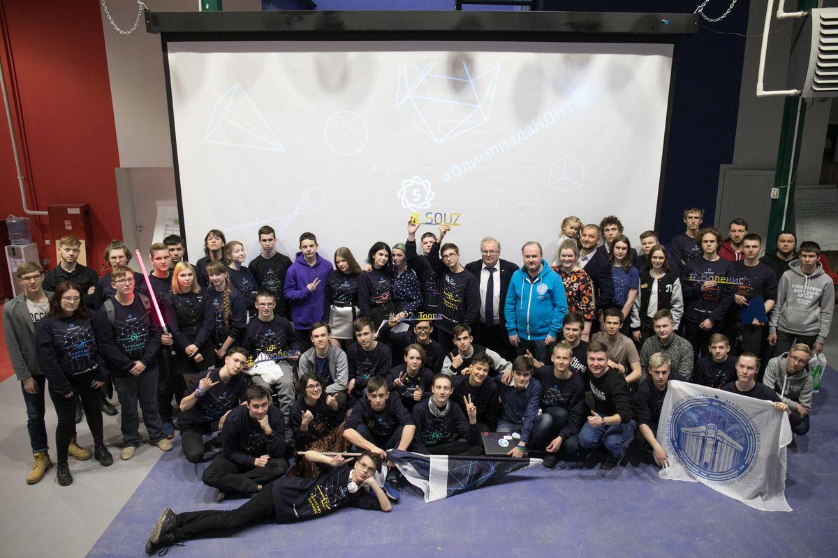 В «Точке кипения – Политех Санкт-Петербург» прошел финал Олимпиады Кружкового движения НТИ по профилю «Передовые производственные технологии»