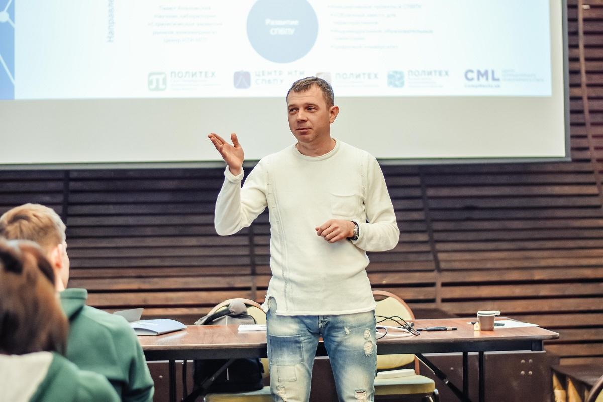 В рабочей сессии профсоюзной организации СПбПУ принял участие руководитель образовательных программ ВШТП ИППТ Павел Козловский
