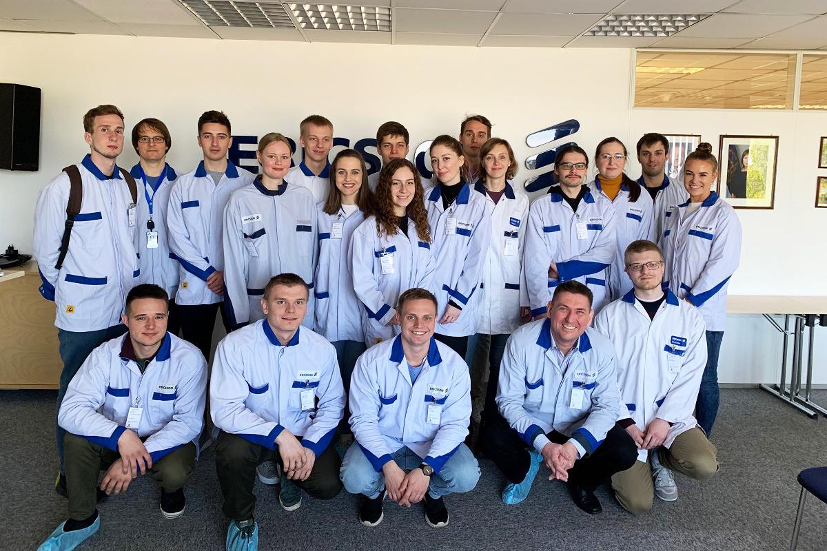 Студенты ВШТП посетили Таллин