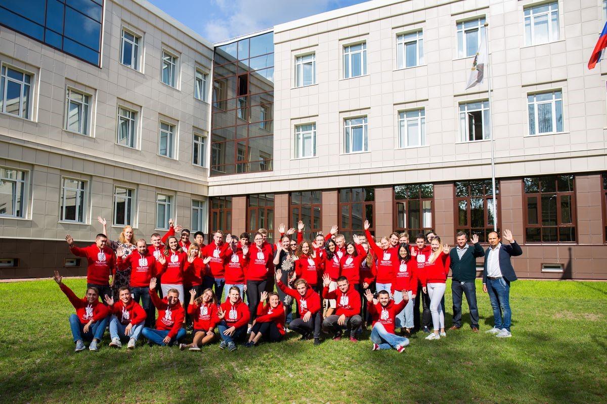 Студенты первого выпуска международной образовательной программы
