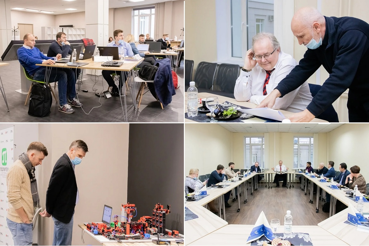 В Центре НТИ СПбПУ завершился второй модуль программы EМВА «Лидеры цифровой трансформации»